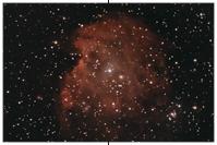 NGC 2174, NGC 2175, Affenkopfnebel