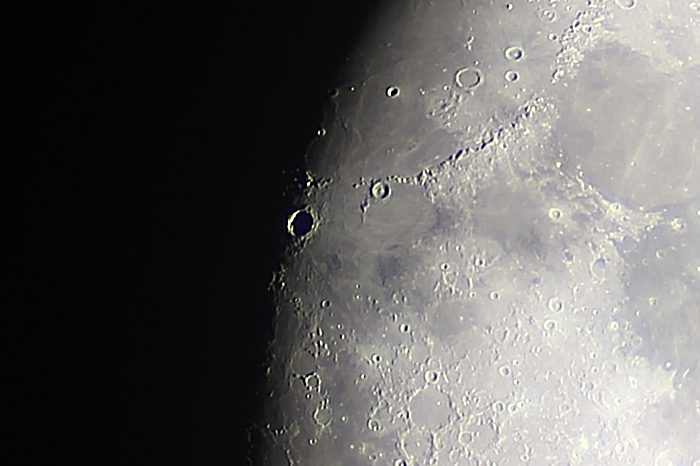 Mond-Quincunx, Krater Kopernikus