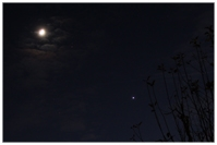 Mond, Mars, Venus