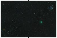 Komet 46P/Wirtanen im Goldenen Tor der Ekliptik