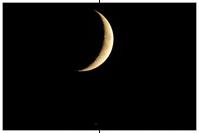 Mond trifft Saturn