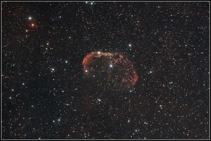 NGC 6888, Crescent-Nebel