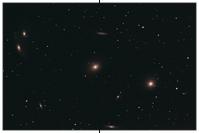 Markarjansche Kette, Virgo-Galaxienhaufen, M84, M86