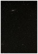 M31 Andromedagalaxie, M33 Triangulum-Galaxie