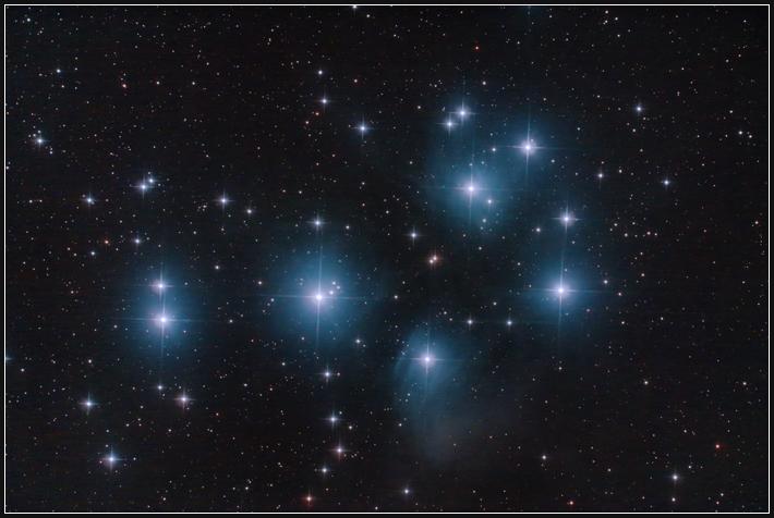 M45, Plejaden