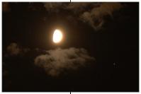 Mond begegnet Mars