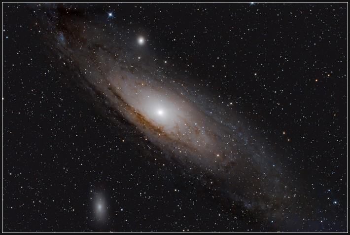 M31, Andromeda Galaxie