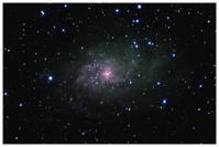 M33, Dreiecksgalaxie, Dreiecksnebel, Triangulum-Galaxie