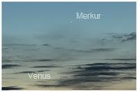 Venus bei Merkur