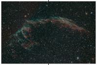 NGC 6992/95, Cirrusnebel, Knochenhand