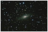 NGC 7331, Spiralgalaxie, Sternbild Pegasus
