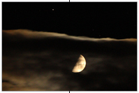 Halbmond bei Saturn