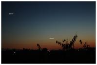 Venus, Saturn