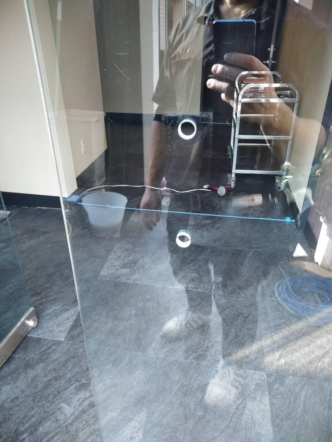 ガラス清掃 アフター