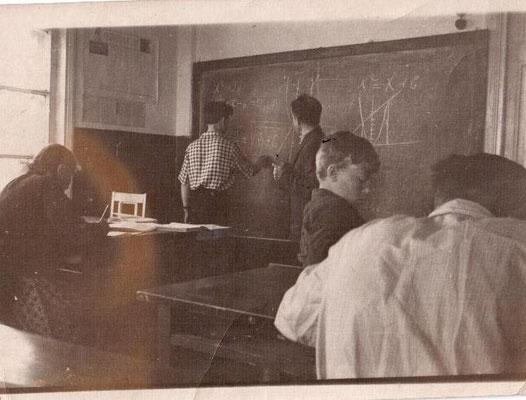 1963 год. На уроке у Круглова Евгения Ивановича