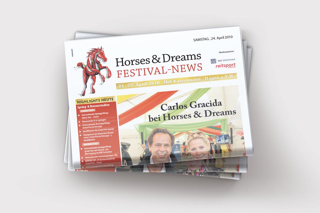 Turnierzeitung Horse & Dreams