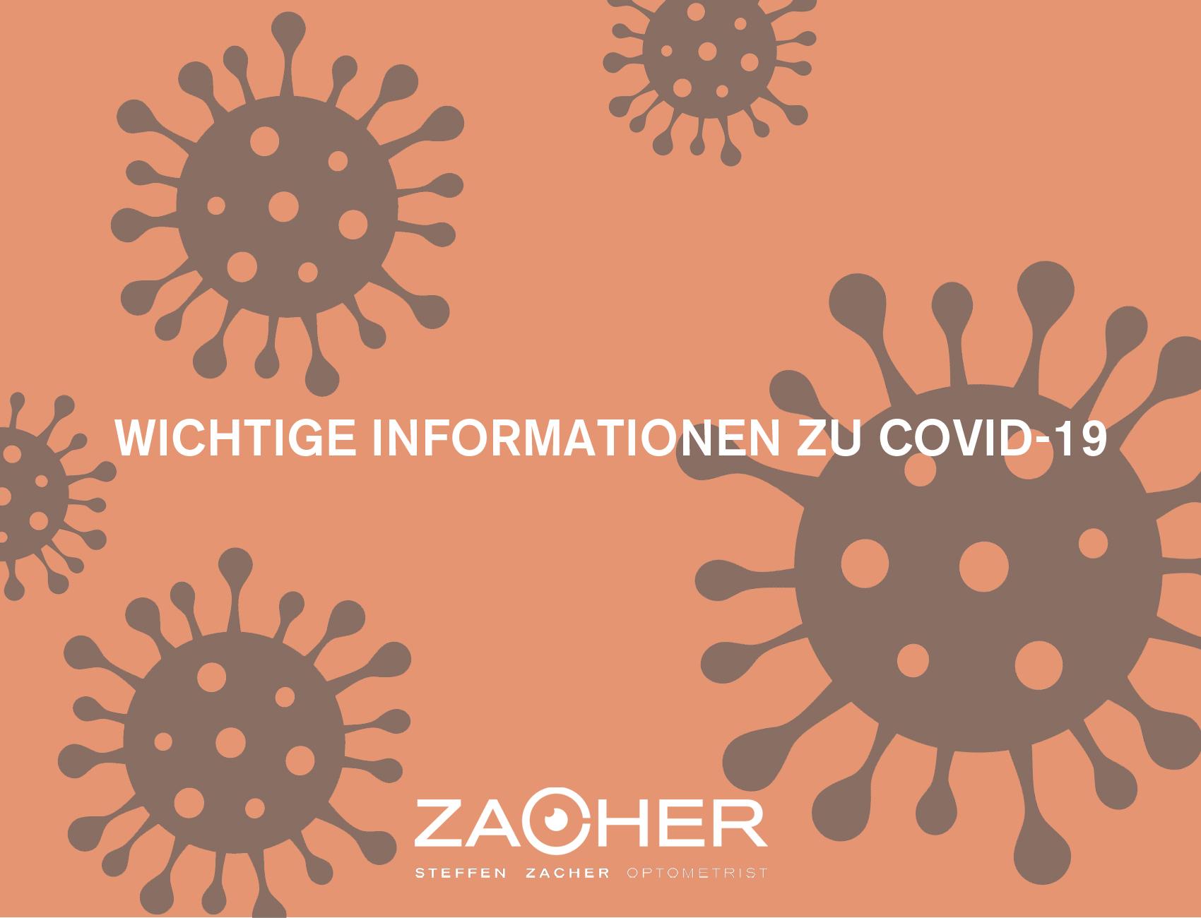 Coronamaßnahmen bei Optiker Zacher