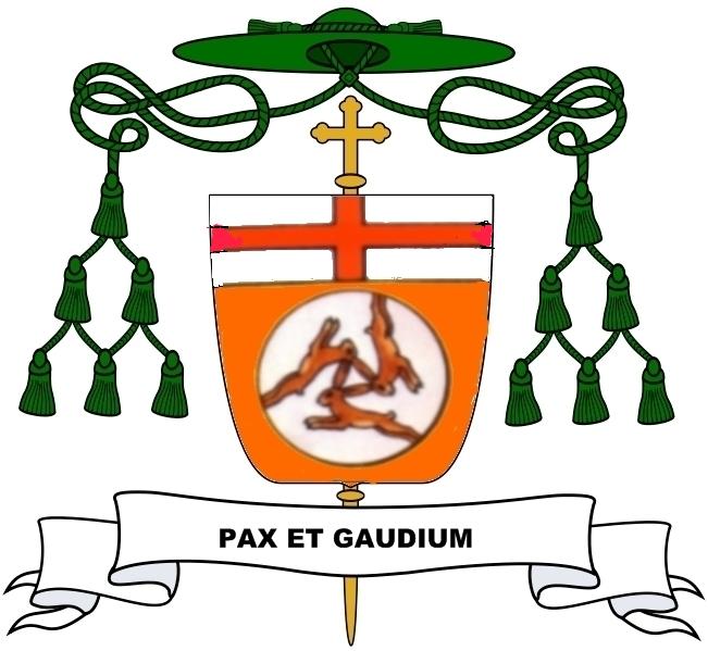 Wappen Bischof Scheele von Würzburg 1979 - 2003, ehemaliger Weihbischof von Paderborn