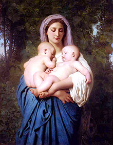 William Adolphe Bouguereau, Charity, Wikipedia, gemeinfrei