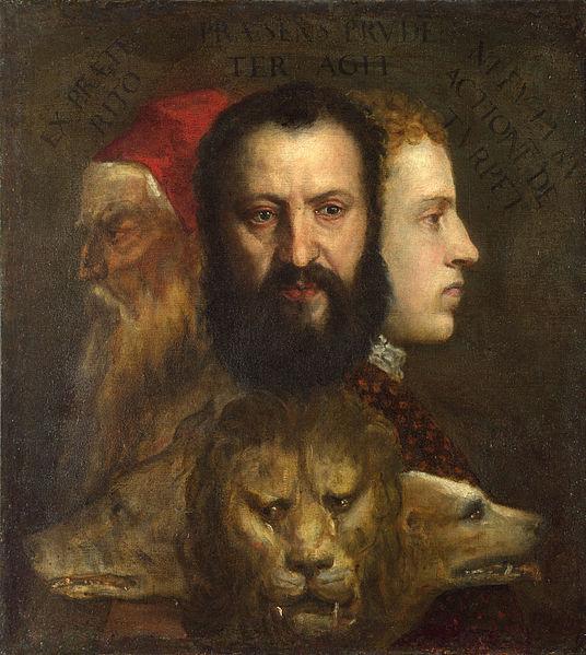 Tizian, Allegorie der Zeit, (c) Wikipedia gemeinfrei