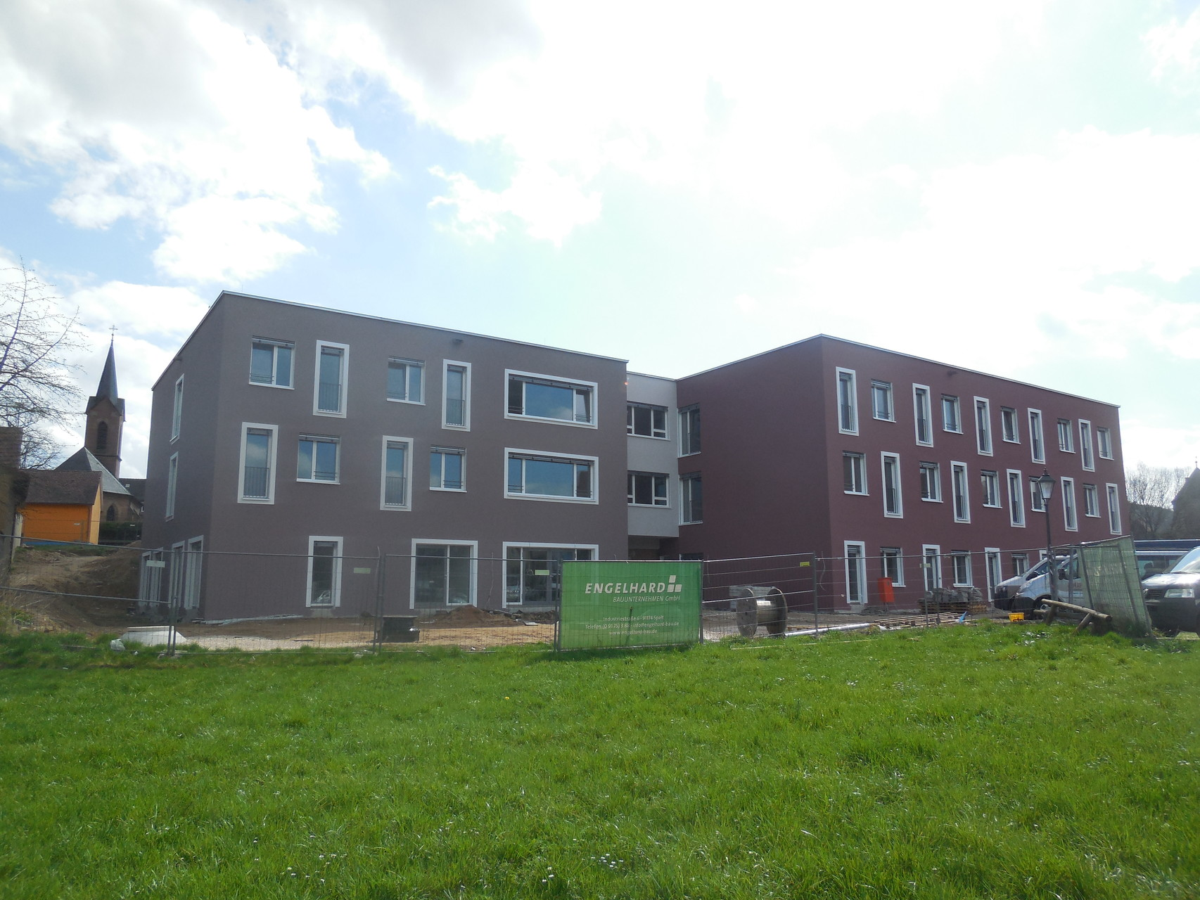 Das Ziel: Der Neubau des Caritas Seniorenheimes St. Nikolaus Spalt