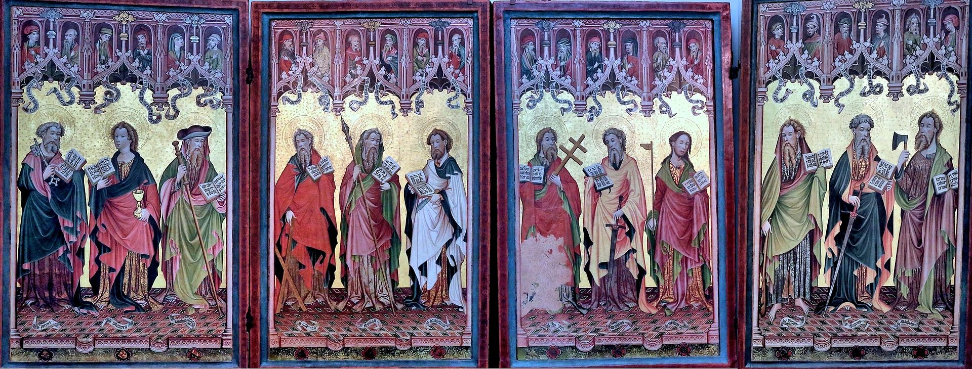Göttinger Barfüßeraltar, 1424