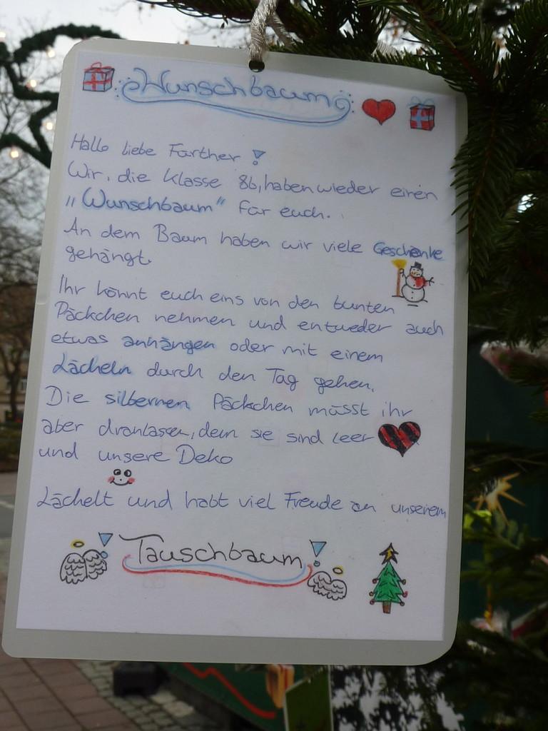 19.2. Wunschbaum