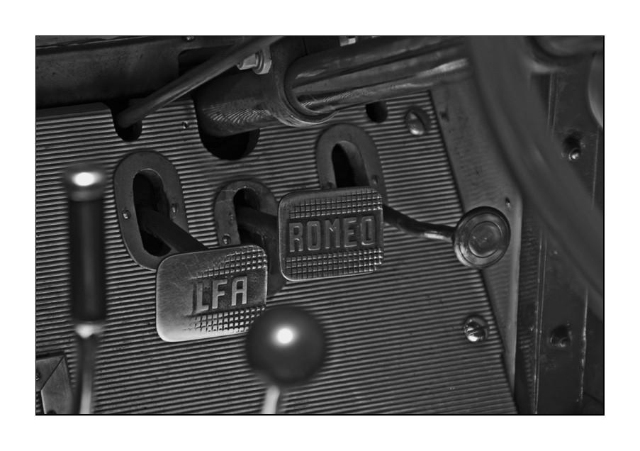 Detail eines Alfa Romeo