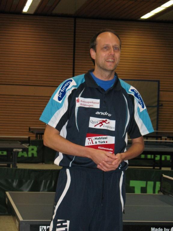 Trainer und Verbandstrainer Volker Ziegler...