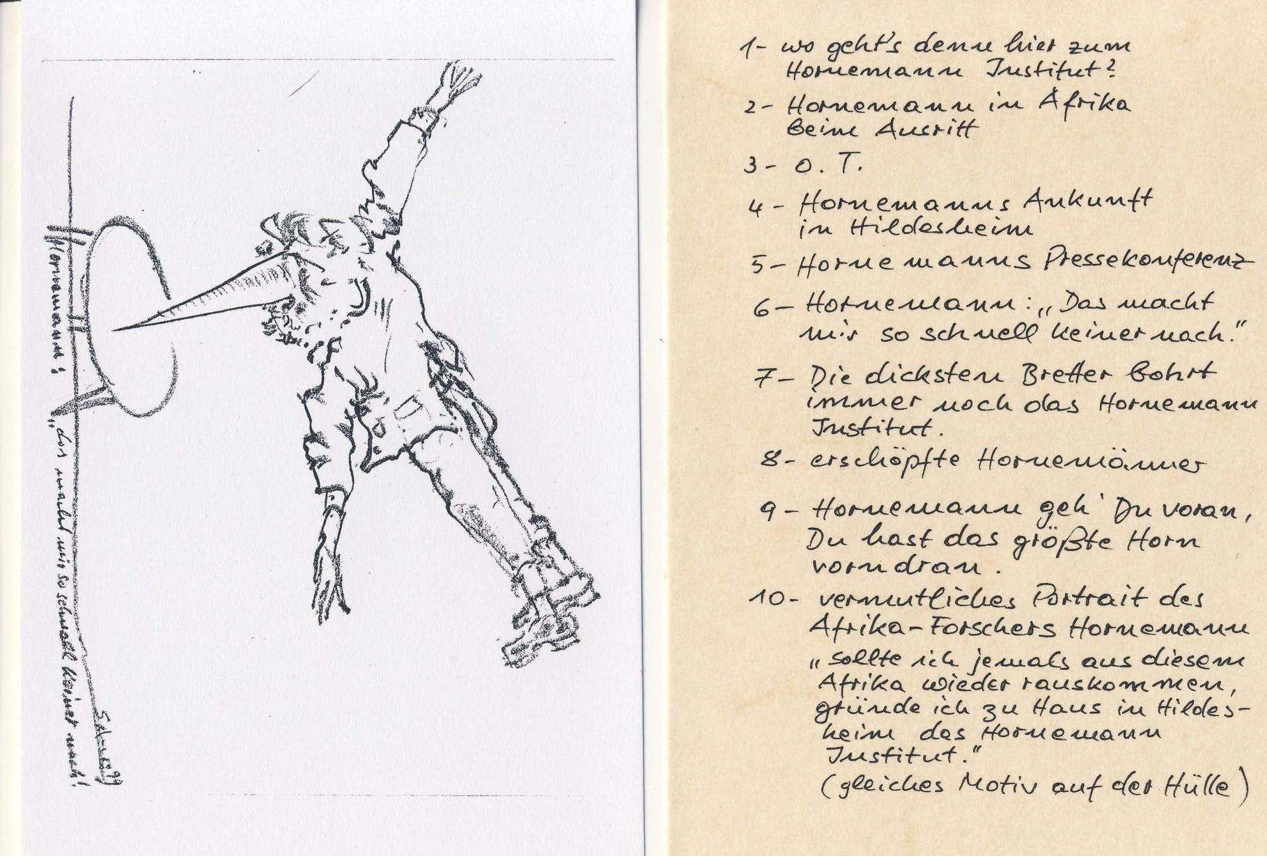 Hornemann, Zeichnungen, 6