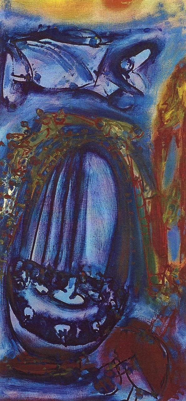 Türbild XL, Öl auf Leinwand, 1997