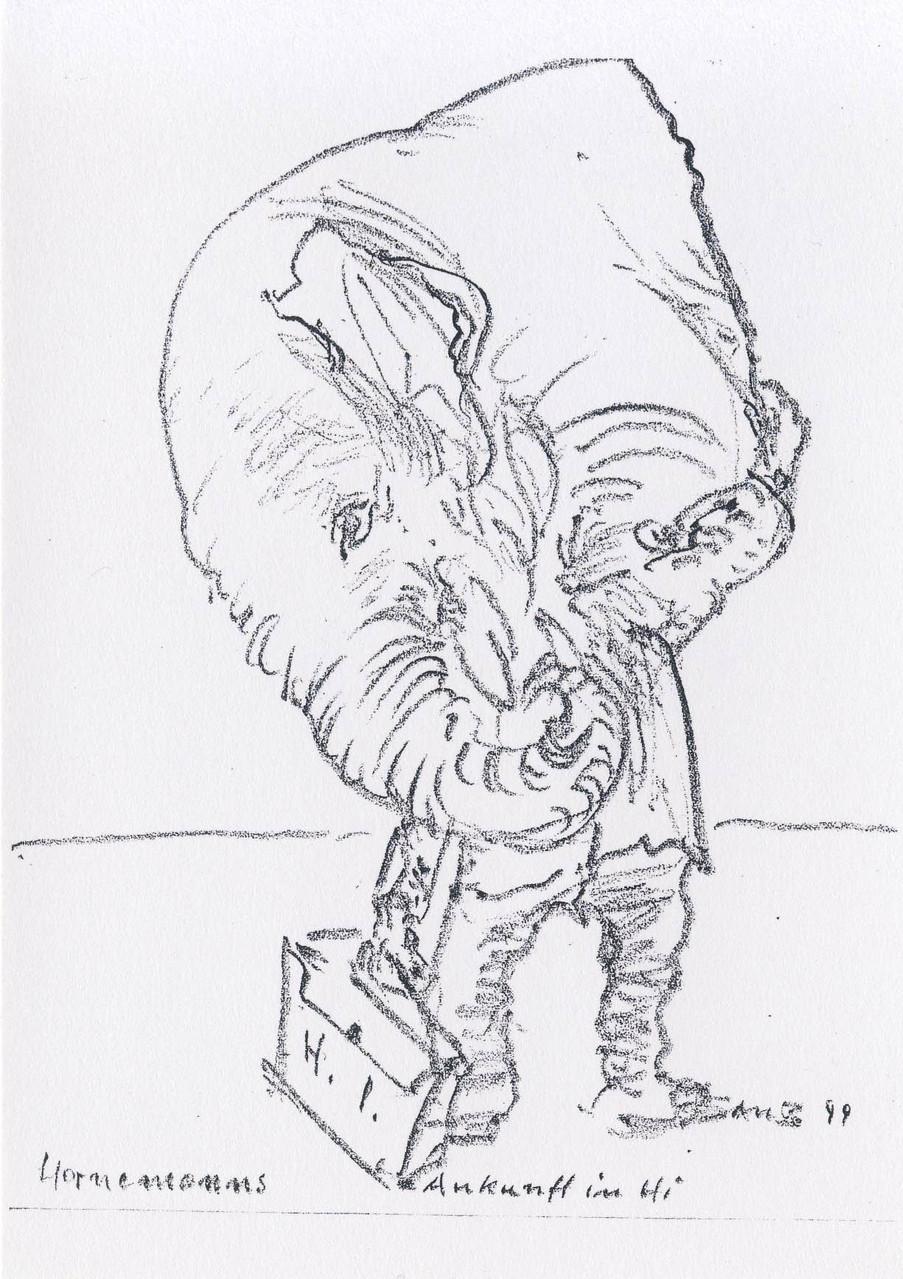 Hornemann, Zeichnungen, 3