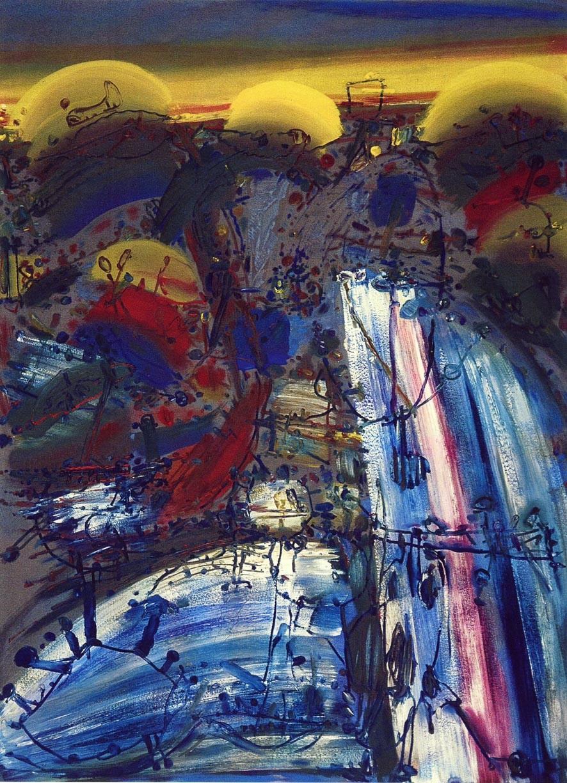 Reste, Öl auf Köper, 1997-98-99