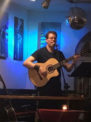 Konzert im Café Omar, Ulm, 2017