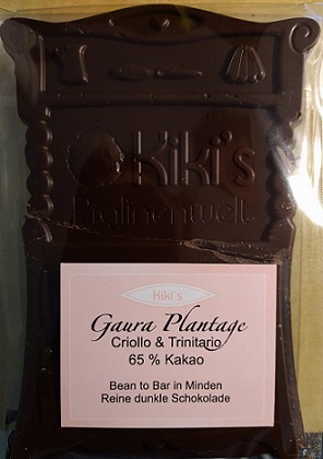Gaura Plantage 65% - Kiki's Bean-to-Bar Schokolade