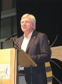 Ministerpräsident Volker Bouffier ging auf Forderungen der hessischen Landfrauen ein und sagte ihnen Unterstützung zu.