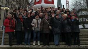 Die Landfrauen des Landecker Amts bereisten die Städte Münster und Dortmund und erlebten eine schöne Zeit. Foto: nh