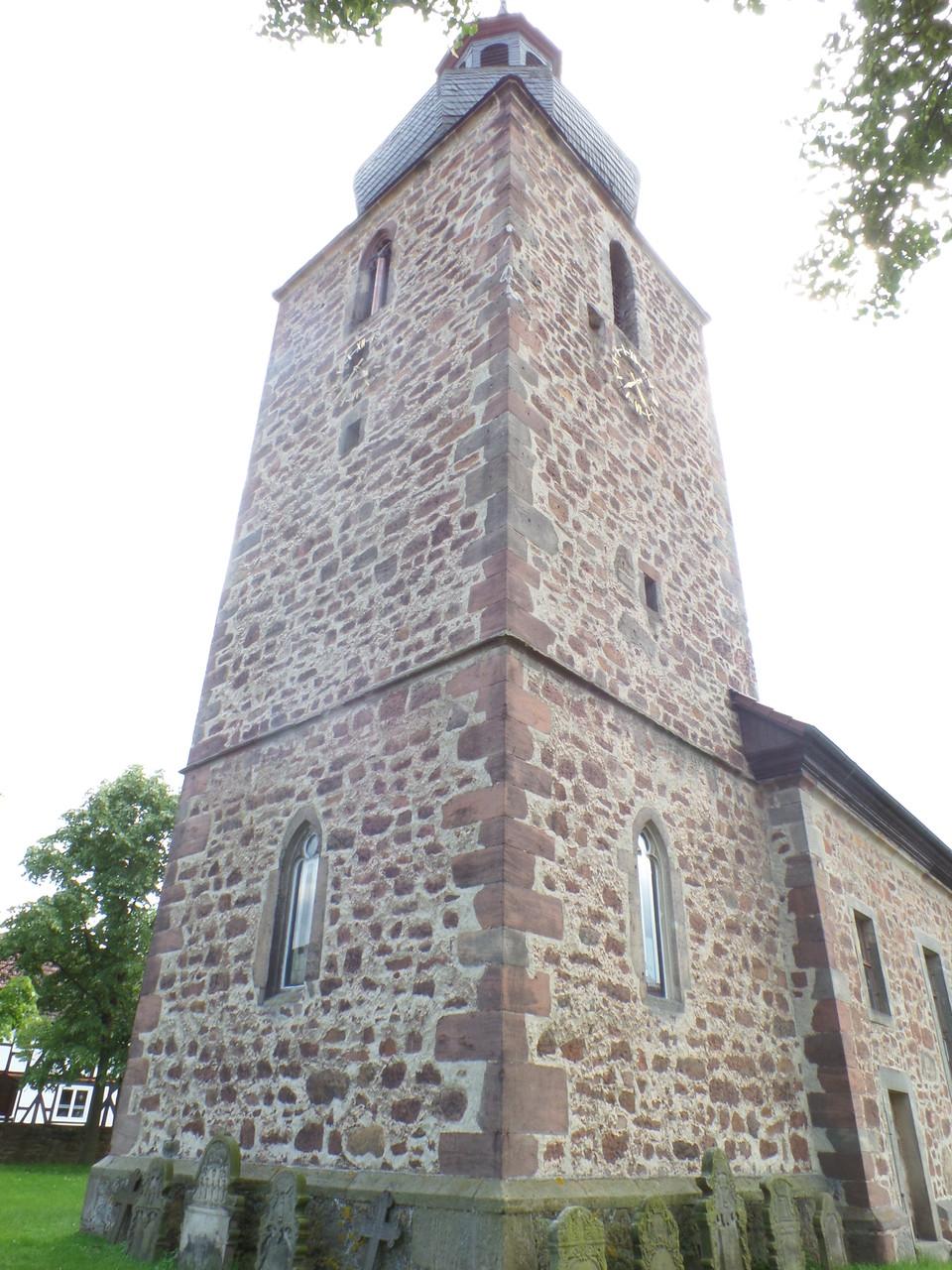 Die Kirche in Kerspenhausen