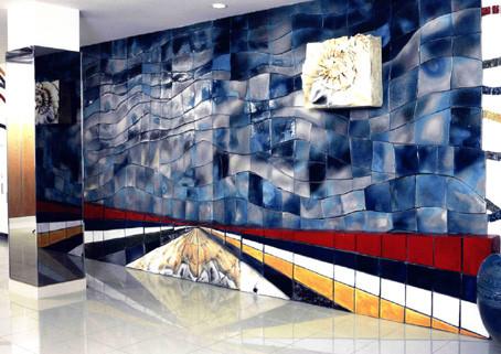 「光あれ」2000年 コウジン倶楽部エントランスホール(岡山市)