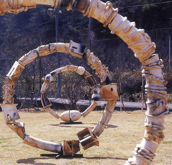 「WA」2004年 ワシントンDC 日本大使館ギャラリー個展出品作
