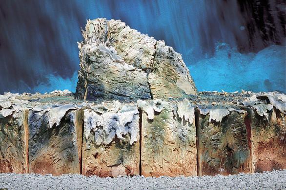 「Water's Sound」2008年 ロンドン日本大使館ギャラリー個展出品作