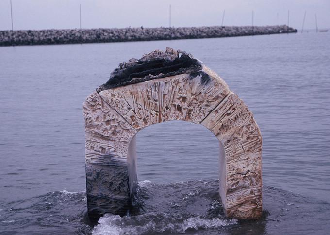 「漂流」1999年 女流陶芸文部大臣賞(最高賞)受賞作