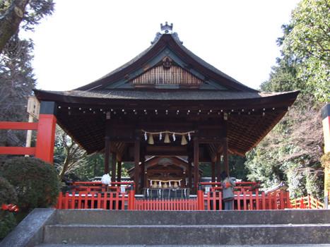 建勲神社・拝殿