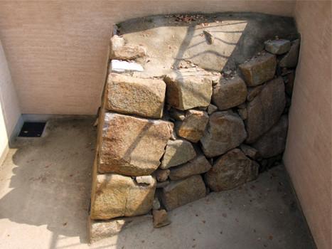 宇喜多秀家期の石垣