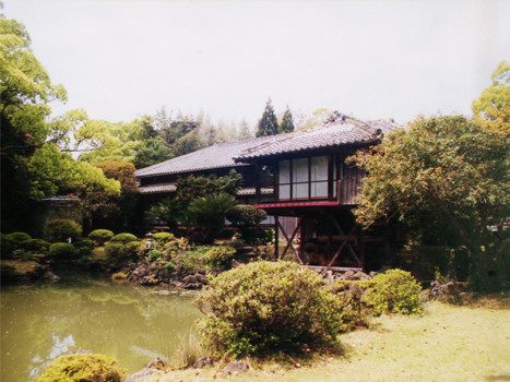五島邸・心字が池