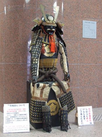 信長所用甲冑(レプリカ)