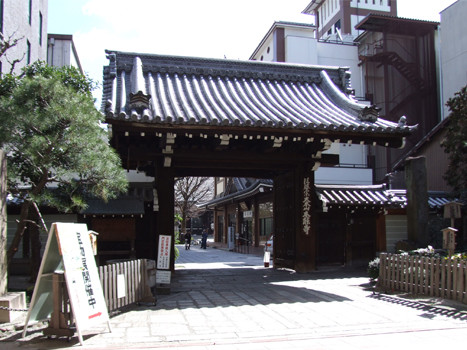 本能寺・門