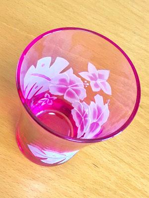 被せグラス ハワイアン