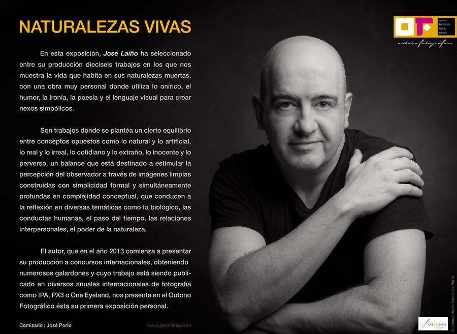 "Exposición fotográfica ""NATURALEZAS VIVAS"" de Jose Laiño en el Outono Fotográfico 2014"