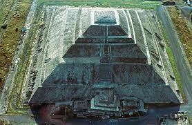 Teotihuacan, pirámide del Sol / Sun pyramid